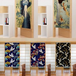 Curtain & Drapes Japanese Half Bedroom Kitchen Decor Partition Household Shelter Customizable