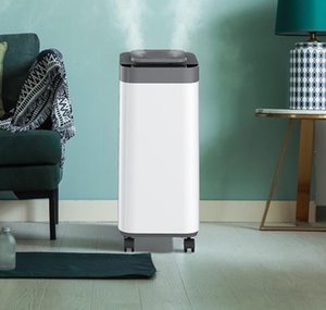 Humidifiers Household Mute Bedroom Humidifier Heavy Fog Capacity Home Pregnant Woman Aroma Diffuser Floor Type High Frequency Atomizer