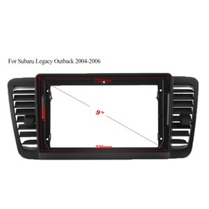 ABS Plastic Trim Fascia Frame For Subaru Legacy Outback 2004-2006 Car Navigator Android Radio Navigation DVD Mounting Dashboard