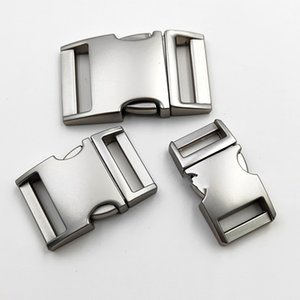 New 1pcs pack 10mm 15mm 20mm 25mm Metal Side Release Curved Buckles for Paracord Bracelet Dog Cat Collar Diy Accessories one 744 S2