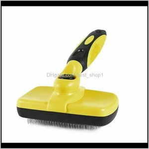 Self Cleaning Slicker Brush For Dog Cat Shedding And Fit Various Pet Hair Grooming Tools Xzyjk C5Ws0