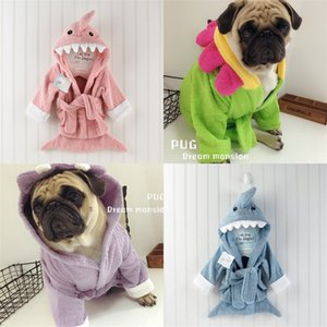 Dog Pajamas Winter Dogs Clothes for Dogs Bathrobe Pug Chihuahua Ropa Perro Pet Cat Bathrobe Small Dogs Pets Clothing Pet Overall 912 R2