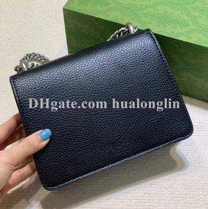 Woman Handbag Shoulder Bag Original box Purse fashion chain High quality Cross body messenger serial number