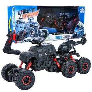 سوبر الحجم جديد شرطة خاصة ستة عجلة تسلق الصليب البلاد bigfoot سيارة التحكم عن بعد الأطفال الصبي بارد لعبة CA96EA