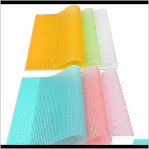Parts Accessories Refrigerators Household Appliances Drop Delivery 2021 Fridge Set Of 6 Piece Multi Colored Pvc Refrigerator Der Mats Multipu