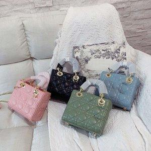 Классическая леди сумка высокое качество мягкие кожаные мини-наплечные сумки изысканный дизайн ежедневная сумочка 4 цвета женские покупки PURSE17см
