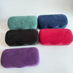 Designer Sunglasses Case Glasses Box Black Purple Blue Velvet Eyewear Brand Men Women Eyeglasses Protective Accessories