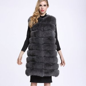 ZADORIN Veste Femme Winter Warm Long Faux Fur Vest Women Fluffy Faux Fur Coat Jacket Veste Fourrure Gilet casaco pele