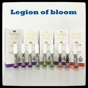 Легион Bloom 0.8ML распылитель Vape Carts 510 резьба керамическая катушка для толстой масляной упаковки 100% оригинал