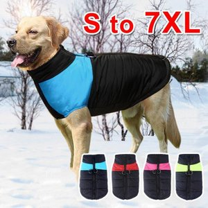Autumn Winter Dog clothes Warm Waistcoat pet dog clothes fashion Vests Coats with Leashes Rings puppy clothes DropShip size S-XXL fee ship
