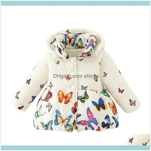 Clothing Baby, Kids & Maternityfashion Toddler Baby Girls Winter Coat Infants Kid Cotton Butterfly Parkas Outwear Girl Down Clothes Drop Del