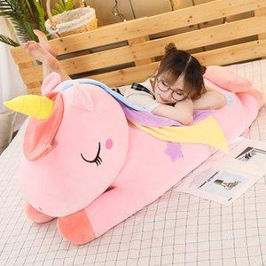 Muñecas de felpa Juguete Prone Tizaje de gran tamaño Dibujos animados Starfish Unicorn Mabu Doll Día de San Valentín Regalo