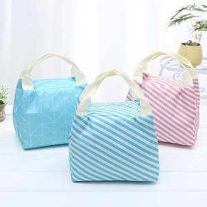 Aluminum Foil Insulation Bag Lunch Box Waterproof Thermal Tote Bags Cooler Picnic Bento Storage