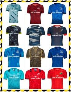 Leinster Rugby Jersey 20 21 Munster Futebol Jerseys 2021 2022 Home Away Men Rugby Jerseystrikots