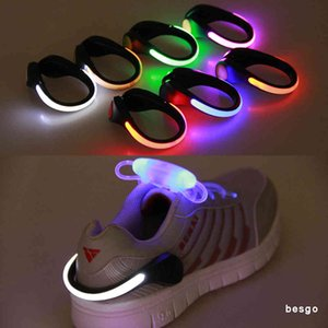 LED Shoe Clip Light Night Safety Warning LED Bright Flash Light For Running Cycling Bike Useful Outdoor Tool LED Luminous Kids Toy BC BH3111