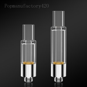 No heavy metal atomizer 510 glass cartridge disposable empty CE3 vape Tank Ceramic Coil carts with packaging