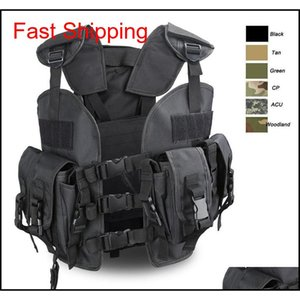 Jackets Outerwear Gear High Quality Army Jacket Hunting Safety Vest Clothing Tactical Uniform Armored Security Protectionmultifunction