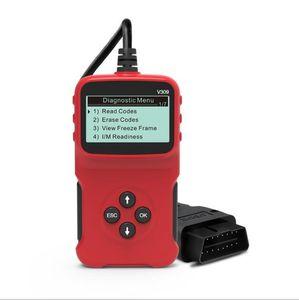 2021 Yeni OBD2 Tarayıcı ELM327 Araba Arıza Dedektörü Otomatik Teşhis Aracı Kod Okuyucu Evrensel Arabalar için Çoklu Diller Destek SAE J1850 ISO 15765-4 CAN