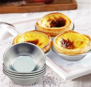 Bakeware Kitchen, Dining Bar Home & Garden Drop Delivery 2021 Egg Tart Mold Moulds Homemade Pie Quiche Baking Pan Pudding Mould Aluminum Allo