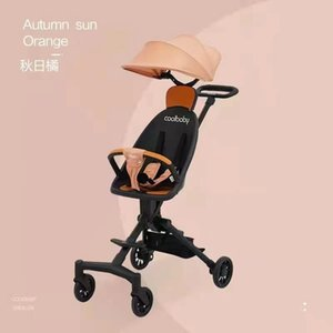Baby Stroller Can Fold Children's Two-way Cart Collapsible Light Available In High Landscape Parts & Accessories