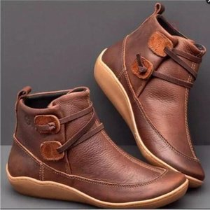 Size 35-43 Fashion Boots tooling shoes Martin large short casual Women's Brand Men's Women Waterproof Leather Sneakers