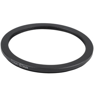 Lens Adapters & Mounts 77mm-67mm 77mm To 67mm Step Down Ring Adapter Black For DSLR Camera