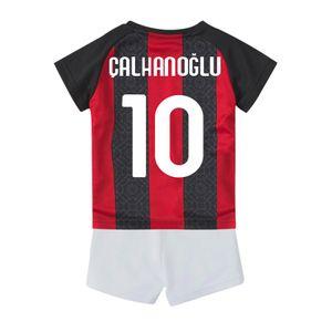 baby clothes Kids Maillot De Foot AC Soccer Jerseys IBRAHIMOVIC BRAHIM TONALI THEO Home top thailand Shirts Personalized Sport Milan Survetement