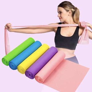 Yoga Stretch Band 5 Colors Set Exercise Resistance Strap Pilates Home Gym Training Stretching YJL02