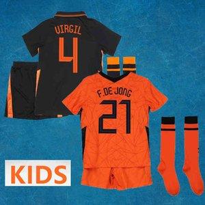 رياضية للرجال 2021 كرة القدم لكرة القدم الفانيلة قمصان فريق Voetbal Tenue الهولندية Omern Ordfitting Kids Children Kits 210506