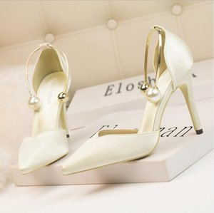 Top Quality Women Shoe Ladies Dress Boots High Heels Sexy Pointed Toe Sole 10cm Pumps Leather Soft Wedding Dresses Shoes size 35-40