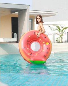 Rooxin 성인 수영 반지 파인애플 과일 부동 침대 풍선 고무 해변 풀 공 생활 조끼 부 표