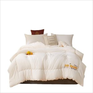 Comforters & Sets 2021 Autumn And Winter Quilt Soybean Fiber Filling Thick Warm Blanket
