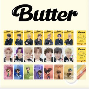 10sets lot bts butter double faces pic cards