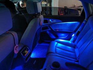 컬러 인테리어 도어 대시 환경 AI6 C7 A7 2012-2021 원본 1 : 1 Interiorexternal Lights
