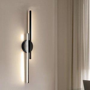 Wall Lamps Modern Simple Led Lamp Strip Light14W 16W 110V 220V Bedroom Bedside Living Room Background Decoration Lighting