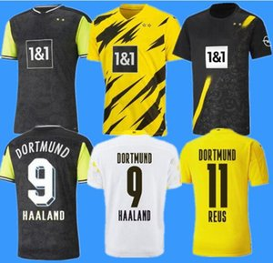 Borussia Dortmund 20 21 fourth 4th HAALAND REUS BELLINGHAM soccer jersey HAZARD SANCHO BRANDT football shirt MEN kids BALR signature Size S - 4 xl