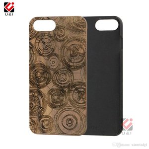 Waterproof Phone Cases For iPhone 6 7 8 Plus 11 12 Pro X XR XS Max Unique Sapele Wood TPU Custom Design LOGO 2021 Fashion Back Cover