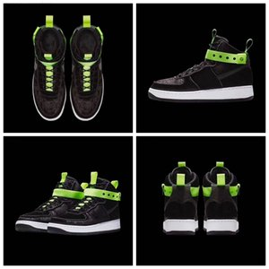 wholesale forceds one 1 Hi VIP Magic Stick 3M running for women men green black high top retro sports designer shoes