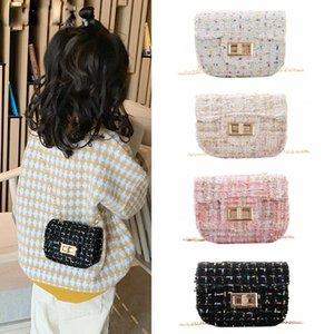 Baby Mini Purses and Handbags Small Wallet Luxury Woolen Kids Cross Body Bag Girls Clutch Purse Bolsa Gift
