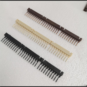 Connectors 80Pcs 10Rows Combo Black Brown Blonde 6D Hair Extensions Buckle For Connection Clip Fastest No Trace In Salon Equipment Ccz 4Ex8F