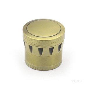 Drum Grinders Tobacco Grinder 4 layer 43mm Diameter Smoking Accessories Dry Herb Spice Crusher Zinc Alloy Grinders T2I51863