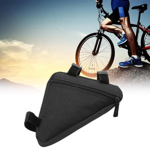 Cycling Bags Road Bike Front Frame Triangle Bag Bicycle Beam Tube Rack Saddle Tool Accessories
