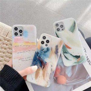 Мраморная золотая фольга защитные чехлы для iPhone 12 Mini 11 Pro 12Pro XS MAX XR XR X 8 7 PLUS CASE Texture Texture Case Cover 100 шт.