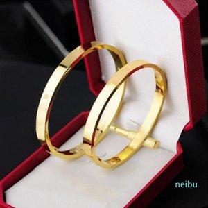 Atacado pulseira de pedra de aço inoxidável pulseiras de amor prata rosa ouro para mulheres homens parafuso chave de fenda pulseira casal jóias mulher com