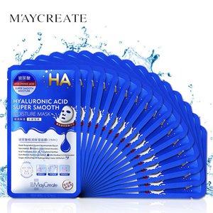 20pcs box Unisex Hydrating Moisturizing Facial Mask Sheet Deep Clean Face Skin Care Oil Control Masks