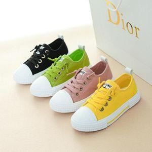 Кроссовки корейский стиль принцесса дышащая обувь, мальчики комфортабельные круглые ноги повседневные туфли, эластичная полоса сплошной цвет низкой обуви для детей