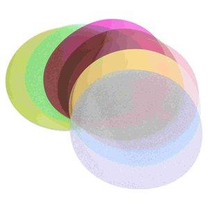 Lamp Covers & Shades 8pcs Po Color Correction Film Transparent Lighting (Random Color)