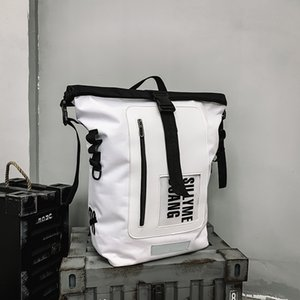 Travel Backpack Bag Large Capacity Functional Backpack Men Streetwear Hip Hop Male Cool College Backpack for Men 210309