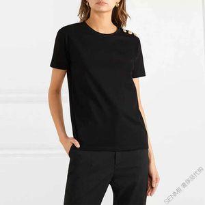 Mens T shirt casual summer polo style hip hop short sleeve shrink-proof