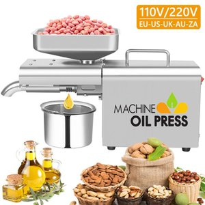 Small Household Oil Press Machine Stainless Steel Kitchen Appliance Pressers